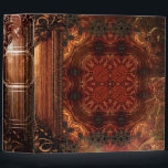 """Pretty Rustic Faux Brown Leather Ancient Tome Binder<br><div class=""""desc"""">Step into the past with this whimsical ancient-tome-themed novelty binder,  alive with ornate faux tooled-leather details and medieval-inspired allure. Makes a fantastic one-of-a-king gift. Shop the rest of our Ancient Tome themed binders and notebooks for a unique niche of products you don&#39;t want to miss!</div>"""