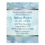 Pretty Sea Shell Themed Bridal Shower Invite
