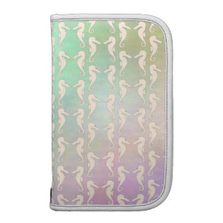 Pretty Seahorse Pattern in Pastel Colors Organizer