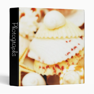 "Pretty Seashells 1"" Photo Album Binder"