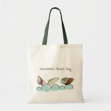Pretty Seashells at the Beach Tote Bag