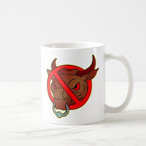Pretty Self-Explanatory. No Bull Coffee Mug