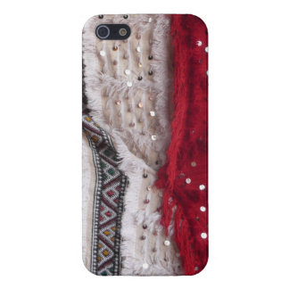 Pretty Sequin Fabric Cases For iPhone 5