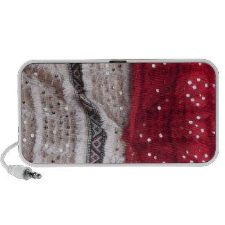 Pretty Sequin Fabric Travel Speakers