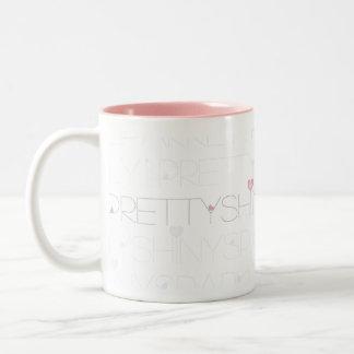 Pretty Shiny Sparkly | Cuppa Jo Two-Tone Coffee Mug