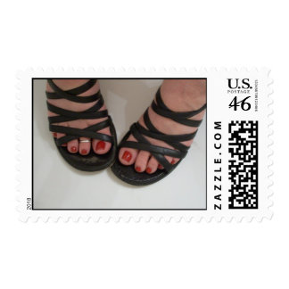 Pretty shoes Book of stamps