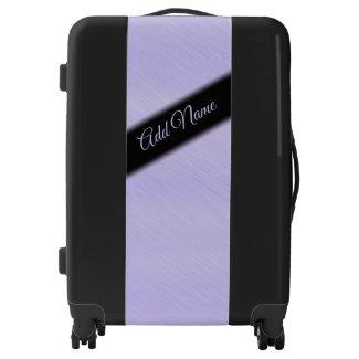 Pretty Simple Lavender Personal Luggage