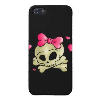 Pretty skull iPhone 5 cover