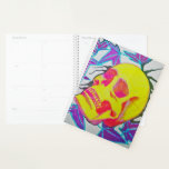 "Pretty Skull Planner<br><div class=""desc"">Enjoy this pretty,  colorful skull while you make your daily plans!</div>"