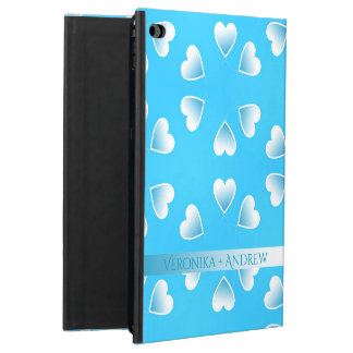 Pretty small blue hearts. Add your own text. Powis iPad Air 2 Case
