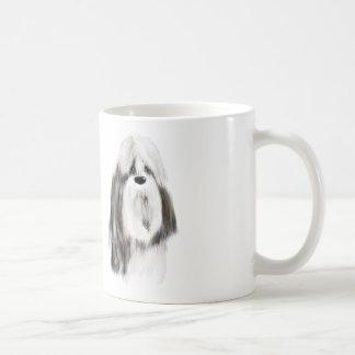 Pretty small dog coffee mug