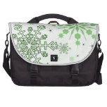 Pretty Snowflakes Bags For Laptop