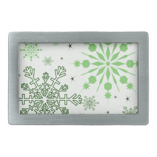 Pretty Snowflakes Belt Buckle
