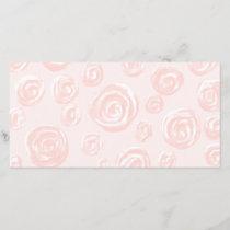 Pretty soft pink rose pattern.