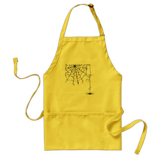 PRETTY spiderweb Adult Apron