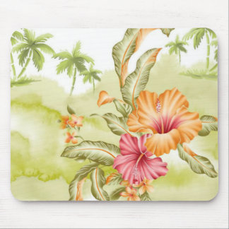 pretty spring flowers mouse pad