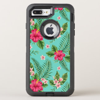 pretty spring flowers OtterBox defender iPhone 7 plus case