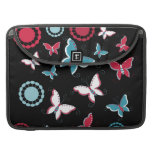 Pretty Spring Pink Blue Butterflies for Girls Sleeves For MacBook Pro