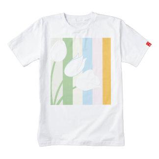 Pretty Spring Tulips Zazzle HEART T-Shirt