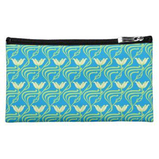 Pretty Spring Water Lilies Cosmetic Bag