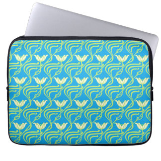Pretty Spring Water Lilies Laptop Computer Sleeves
