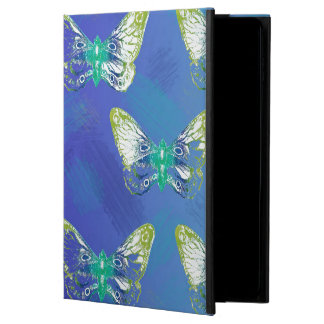 Pretty Stamped Butterfly Design Ipad Case