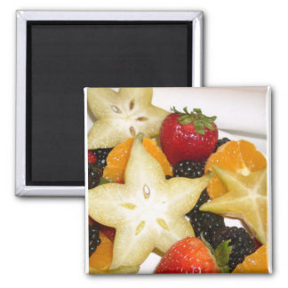 Pretty Star Fruit Salad Magnet