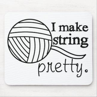Pretty String/Yarn Custom Color Light Mouse Pad