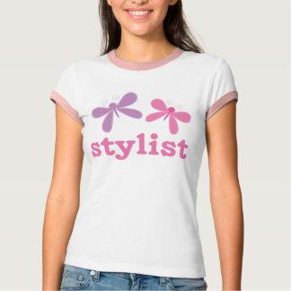Pretty Stylist Dragonfly Womens Tee shirt