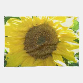 Pretty Sunflower Hand Towel