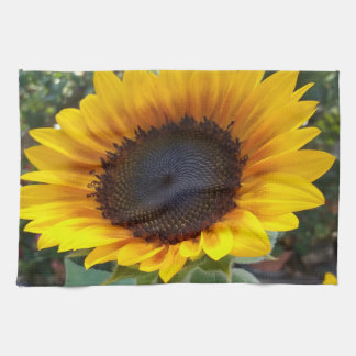 Pretty Sunflower Kitchen Towel