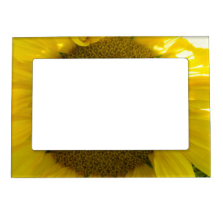 Pretty Sunflower Magnetic Photo Frame