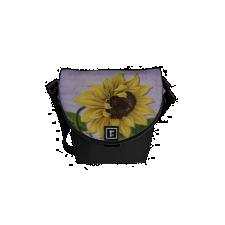 Pretty Sunflower On Sheet Music Courier Bag