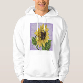 Pretty Sunflower On Sheet Music Hoodie
