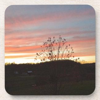 Pretty sunset coaster