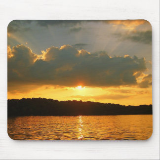 Pretty Sunset Mouse Pad
