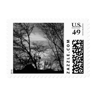 Pretty Sunset Postage