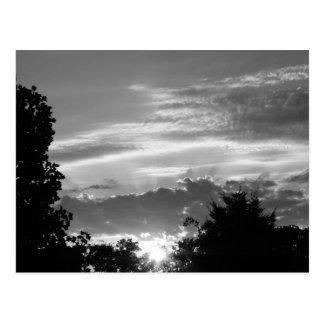 Pretty Sunset Postcard