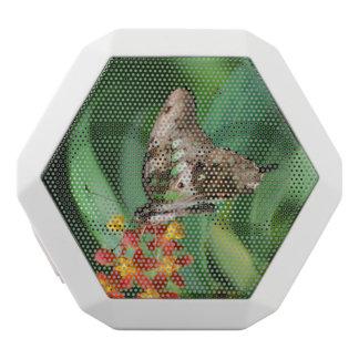 Pretty Swallowtail Butterfly White Boombot Rex Bluetooth Speaker