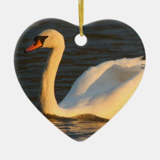 Pretty Swan Ornament