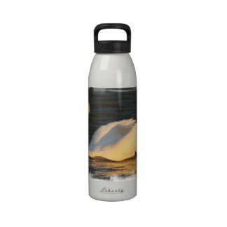 Pretty Swan Water Bottle