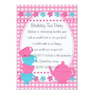 Pretty Tea Party Card