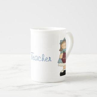 Pretty Teacher's China Mug Tea Cup