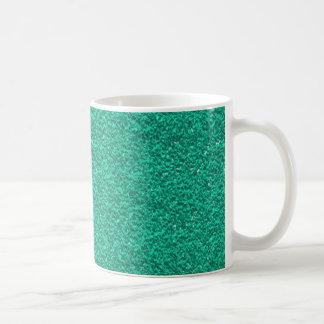 Pretty Teal Plaster Texture Coffee Mug