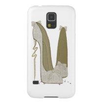 Pretty Things Wedding Stiletto Shoes Art Galaxy S5 Case