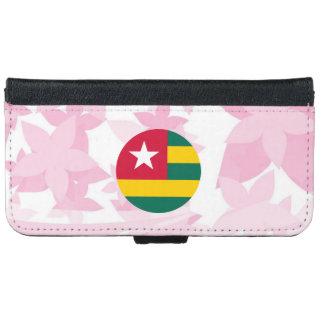 Pretty Togolese Souvenir iPhone 6 Wallet Case