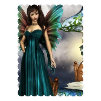 Pretty Tooth Fairy 5x7 Paper Invitation Card