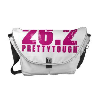 Pretty Tough Run Like a Girl 26.2 Bag Messenger Bag