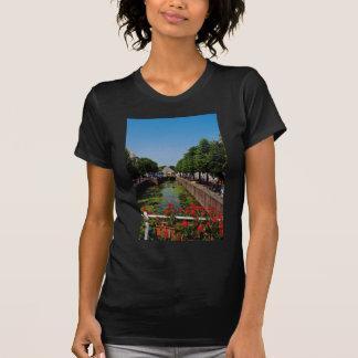 Pretty town on the River Lek, Netherlands fl T Shirts