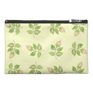 Pretty Travel Accessories Bag, Nostalgic Rosebuds Travel Accessory Bag